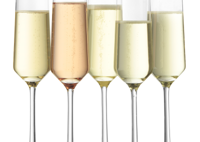 11 Champagne Flutes